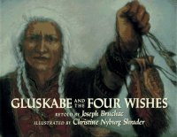Cover image for Gluskabe and the four wishes