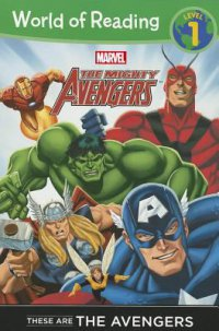 Cover image for These are the Avengers