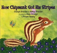 Cover image for How Chipmunk got his stripes : : a tale of bragging and teasing