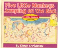 Cover image for Five little monkeys jumping on the bed