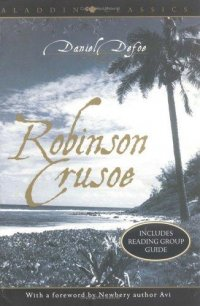 Cover image for Robinson Crusoe