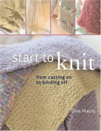 Cover image for Start to knit