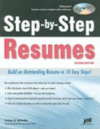 Cover image for Step-by-step resumes : : build an outstanding resume in 10 easy steps!