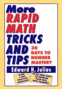 Cover image for More rapid math tricks and tips : : 30 days to number mastery