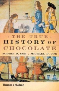 Cover image for The true history of chocolate