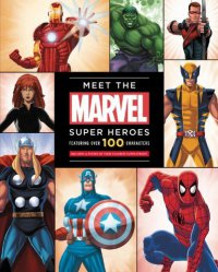 Cover image for Meet the Marvel super heroes