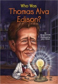 Cover image for Who was Thomas Alva Edison?