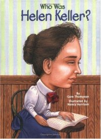 Cover image for Who was Helen Keller?