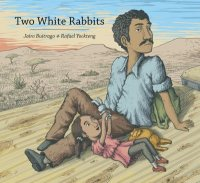 Cover image for Two white rabbits