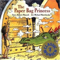 Cover image for The paper bag princess