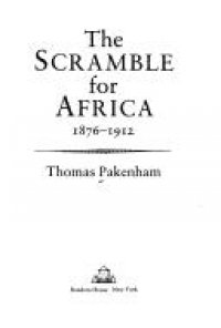 Cover image for The scramble for Africa, 1876-1912