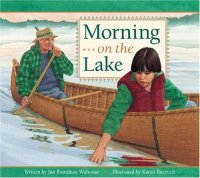 Cover image for Morning on the lake