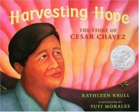 Cover image for Harvesting hope : : the story of Cesar Chavez