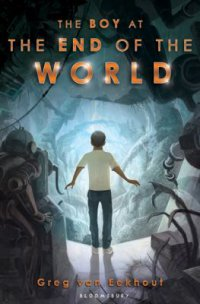 Cover image for The boy at the end of the world