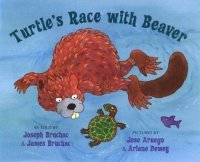 Cover image for Turtle's race with Beaver : : a traditional Seneca story