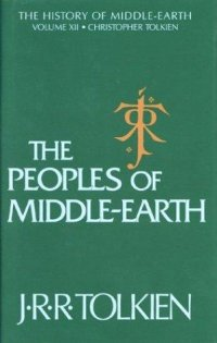 Cover image for The peoples of Middle-earth