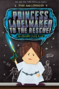 Cover image for Princess Labelmaker to the rescue! : : an Origami Yoda book
