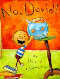 Cover image for No, David!