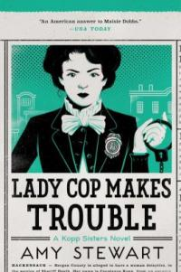 Cover image for Lady cop makes trouble