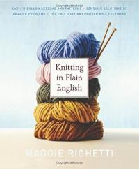 Cover image for Knitting in plain English