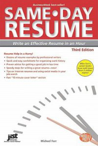 Cover image for Same-day resume : : write an effective resume in an hour