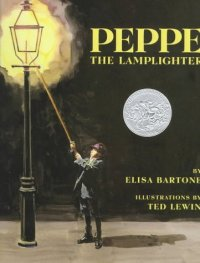 Cover image for Peppe the lamplighter