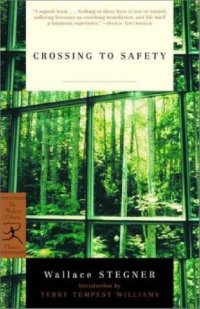 Cover image for Crossing to safety