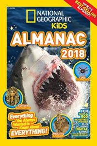 Cover image for National geographic kids almanac 2018.