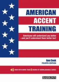 American accent training : : a guide to speaking and