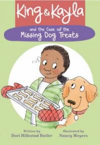 Cover image for King & Kayla and the case of the missing dog treats