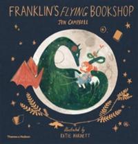 Cover image for Franklin's flying bookshop
