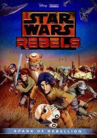 Cover image for Star Wars rebels.