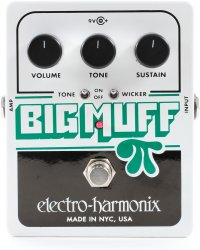 Cover image for Distortion Pedal:  Big Muff Pi With Tone Wicker.