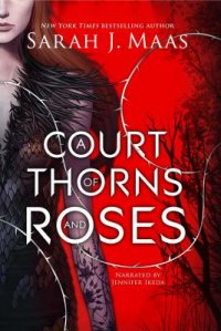 Cover image for A court of thorns and roses