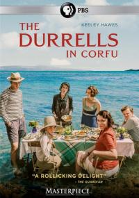 Cover image for The Durrells in Corfu.
