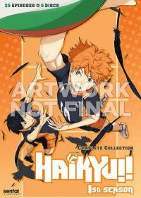 Cover image for Haikyu!!.