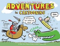 Cover image for Adventures in cartooning