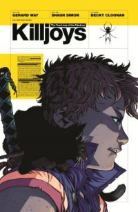Cover image for The true lives of the fabulous Killjoys