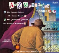 Cover image for A-Z mysteries.