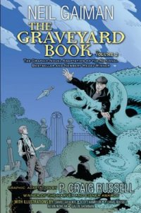 Cover image for The graveyard book.
