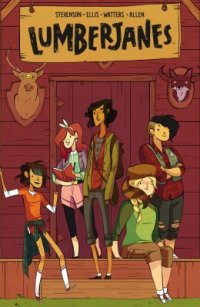 Cover image for Lumberjanes.