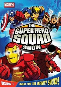 Cover image for The Super Hero Squad show.