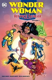 Cover image for Wonder Woman and Justice League America.
