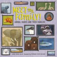 Cover image for Meet my family! : : animal babies and their families