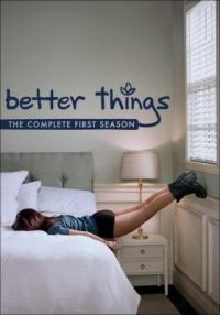Cover image for Better things.