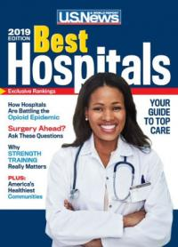 Cover image for Best hospitals, 2019