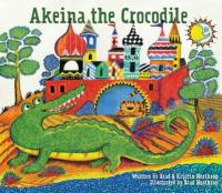 Cover image for Akeina the crocodile