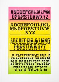 Cover image for Alphabet Specimen.