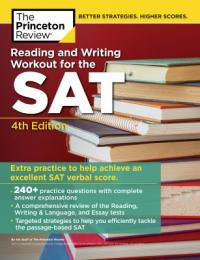 Cover image for Princeton Review Reading and writing workout for the SAT