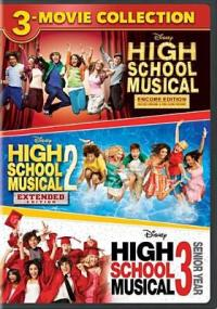 Cover image for High school musical ; : High school musical 2 ; High school musical 3 senior year